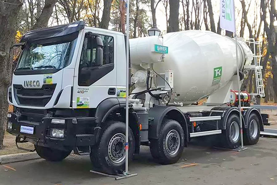 Imer Group Lt 10.7h на базе IVECO Trakker