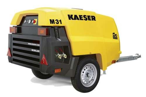 Компактний пересувний компресор Kaeser M31