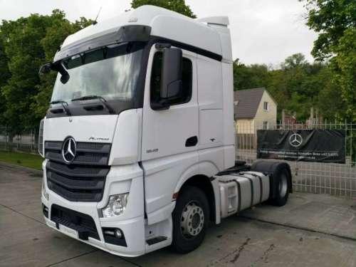 В Україні з'явились офіційні вантажівки Mercedes-Benz з пробігом