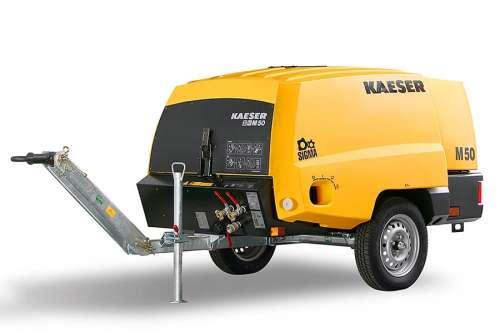 Компактний пересувний компресор Kaeser M50