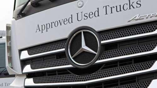 Офіційні вантажівки Mercedes-Benz з пробігом отримають знижку на обслуговування