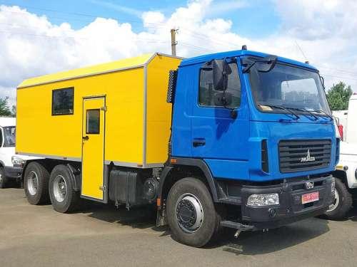 Вахтовый автобус ТК-М-6312-АС-20 на базе МАЗ